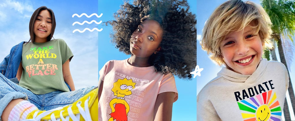 POPSUGAR x Old Navy Tween Clothing Collaboration