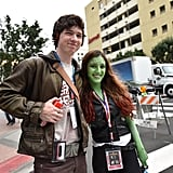Star Lord and Gamora From Guardians of the Galaxy