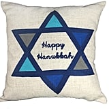 """Happy Hanukkah"" Pillow ($16, originally $40)"