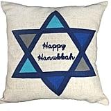 """Happy Hanukkah"" Pillow ($16, originally $40)"
