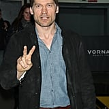 Nikolaj Coster-Waldau continued to promote Game of Thrones' new season in NYC on Friday.