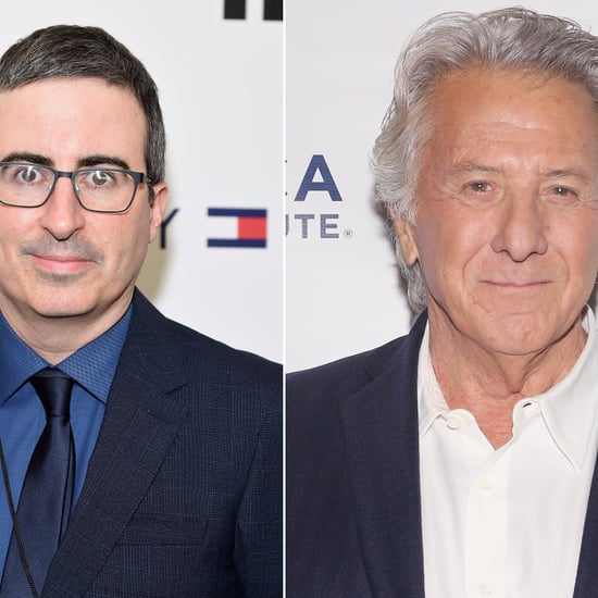 John Oliver Grills Dustin Hoffman on Sexual Harassment