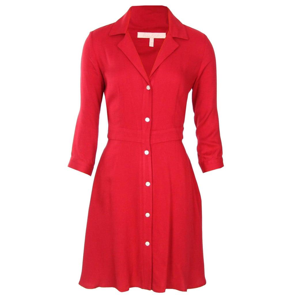 Button-Up Shirtdress