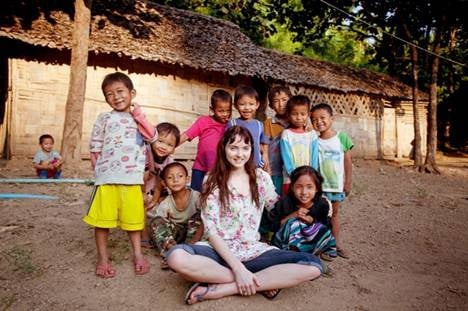 Lily Cole Fronts Burma Charity Campaign