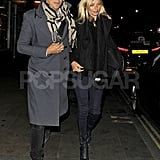 Kate Moss and Jamie Hince were together for a date night.