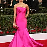 Diane Guerrero's Bright Pink Dress at the SAG Awards