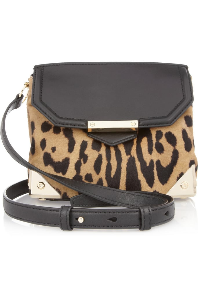You can never go wrong with a little Alexander Wang, especially a piece that injects a great pop of leopard print.
