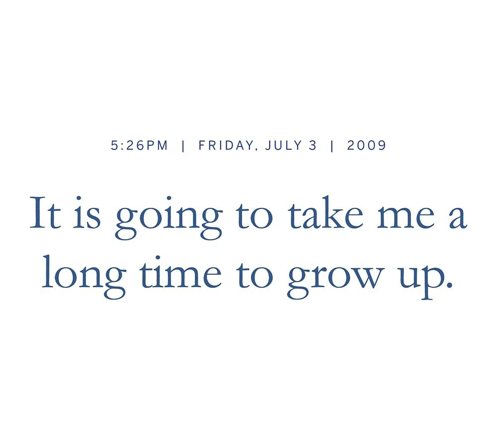 Morgan: It's true. Matthew: It is true. But now that I'm old it feels like a lot of time has flown by.