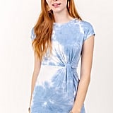 Francesca's Fawn Tie Dye Dress