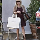 Reese Witherspoon had a shopping day in Beverly Hills.