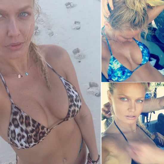 Behind the Scenes for Lara Bingle's Cotton On Bikini Shoot