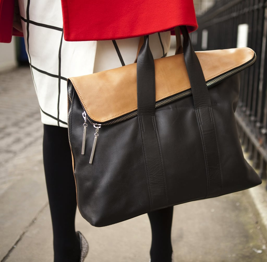 A 3.1 Phillip Lim bag is always a trusty option for holding all of the essentials in style.
