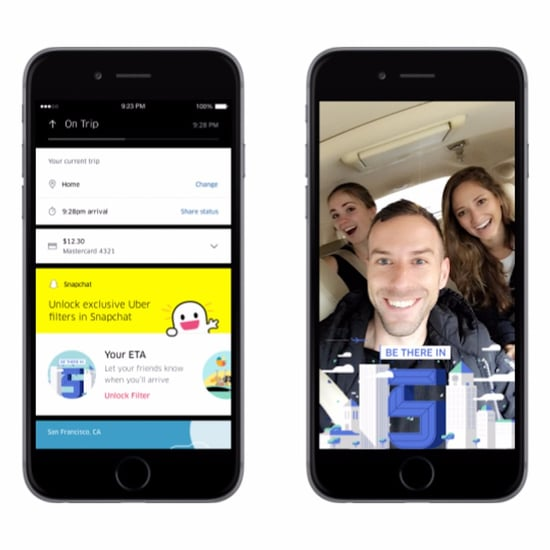 How to Get Snapchat's New Uber Filters