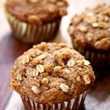 Banana Oatmeal Crumb Muffins With Avocado