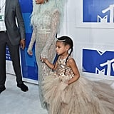 Beyonce's Hair and Makeup at the 2016 MTV Video Music Awards