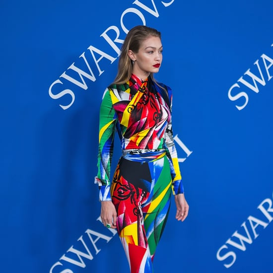 Gigi Hadid's Versace Jumpsuit at the CFDA Awards 2018