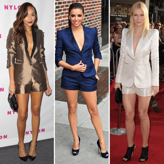 Shorts Suits (Celebrity Pictures and Shopping)