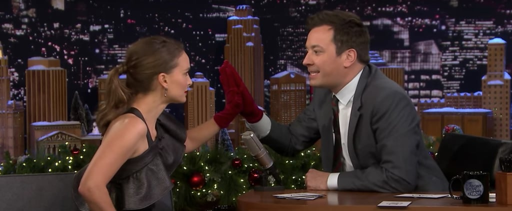 Natalie Portman Jinx Challenge With Jimmy Fallon Video