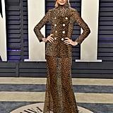 Behati Prinsloo at the 2019 Vanity Fair Oscars Party