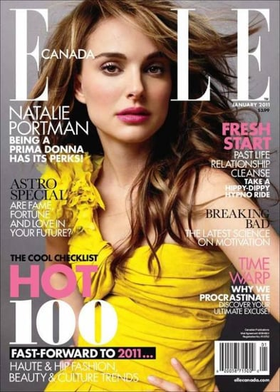 Natalie Portman covers Elle Canada-january 2011