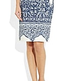 I've never been a huge pencil skirt-wearer, but this porcelain-inspired J.Crew No. 2 Printed Cotton-Blend Piqué Pencil Skirt ($160), reminds me of something slightly tribal, tropical, and it's just so pretty, I can't resist. — Marisa Tom, associate editor