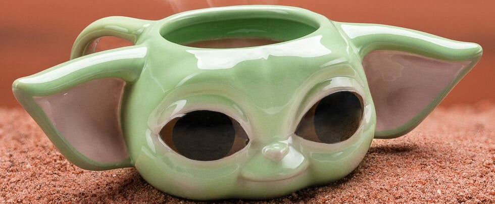 This Baby Yoda 3D Mug Is So Adorable