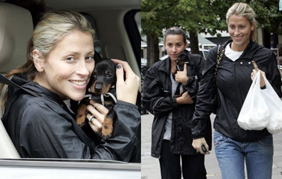Photos Of All Saints Nicole Appleton And Melanie Blatt With Puppy