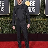 Timothée Chalamet at the 2019 Golden Globes