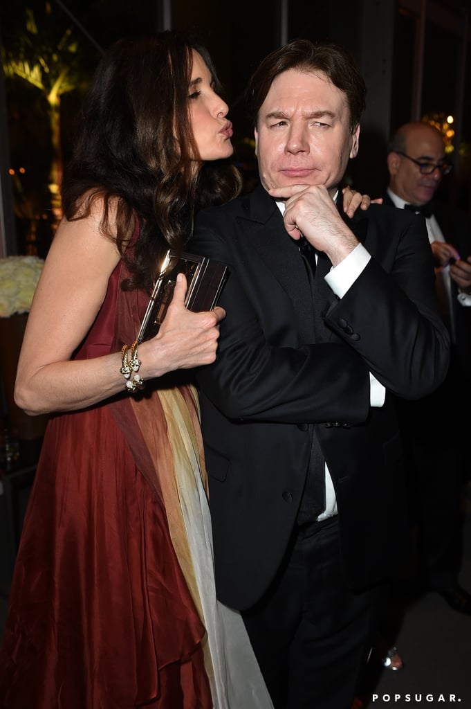 Andie MacDowell and Mike Myers