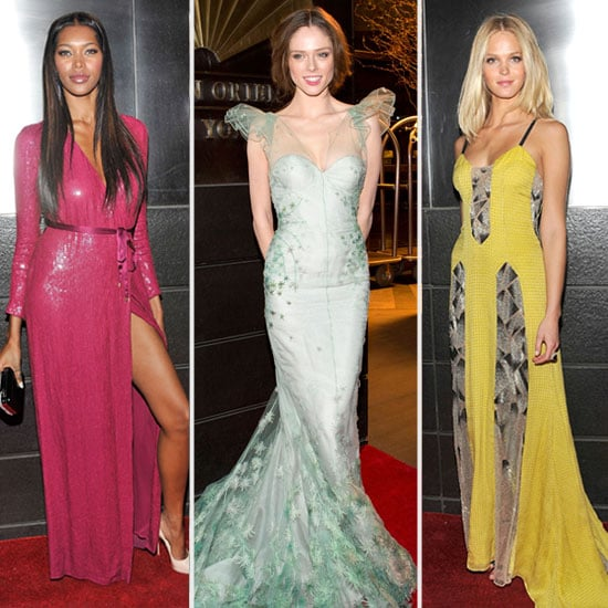 Pictures of Model Coco Rocha, Erin Heatherton and Nicole Trunfio at the 9th Annual Spring Dinner Dance: Snoop the Style on Show!