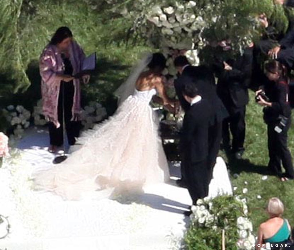 Channing Tatum and Jenna Dewan Wedding Pictures | POPSUGAR Celebrity
