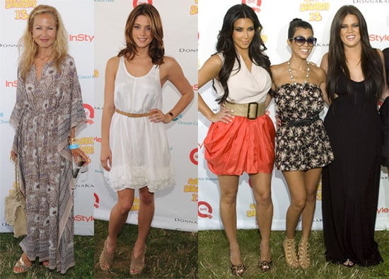 Kim Kardashian, Rachel Zoe and Ashley Greene at the Super Saturday Event in NY