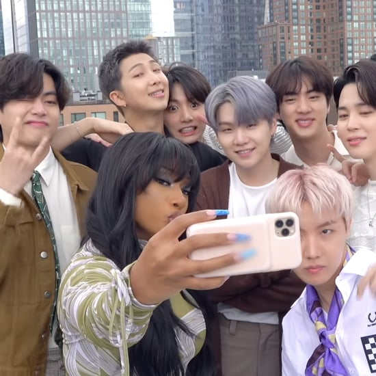 Watch BTS and Megan Thee Stallion Meet in This Sweet Video