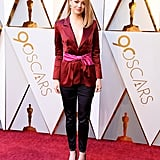 Emma Wore this Louis Vuitton Pantsuit to the Ceremony