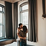 Our Hearts Are Melting Over This Couple's Romantic Engagement Shoot at Home