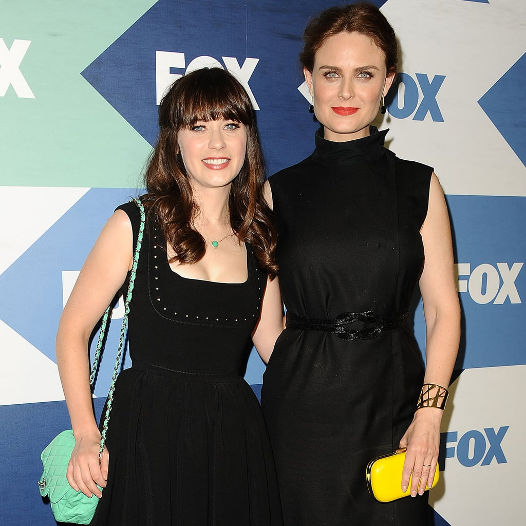 Sisters and Fox stars Zooey (New Girl) and Emily Deschanel ...