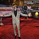 Terry Crews and His Son at Rogue One LA Premiere 2016
