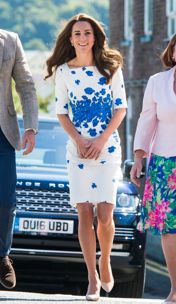 Kate Middleton and Prince William Out in England August 2016