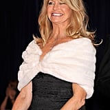 Goldie Hawn was all smiles at the White House Correspondant's Dinner.