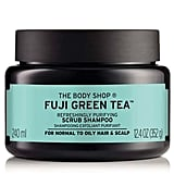 The Body Shop Fuji Green Tea Refreshingly Purifying Cleansing Scrub Shampoo