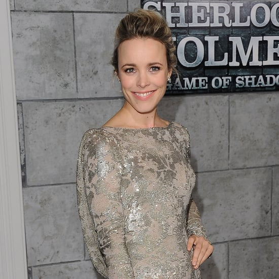 Rachel McAdams in Marchesa Pictures for Sherlock Holmes
