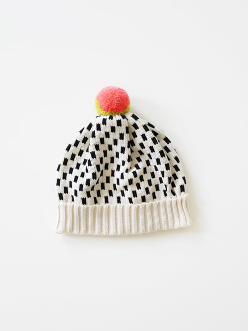 With Winter comes rain, sleet, and snow — the perfect recipe for a bad hair day. I'm hoping that this All For Everyone Dash Dot Hat ($48) will help keep me warm, dry, and adorable.