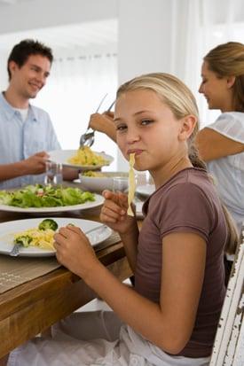 Family Dinner Routine 2010-10-05 15:00:57