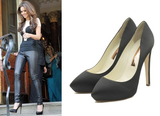 Cheryl Cole X Factor Auditions Black Heels