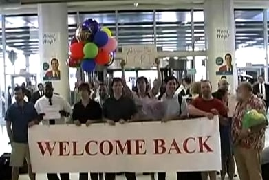 Welcome Back Prank