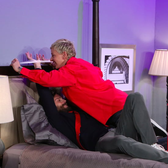 Jamie Dornan and Ellen DeGeneres Fifty Shades Darkest Skit