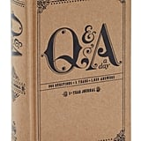 Q&A a Day Five Year Journal ($17)