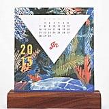2015 Wood Block Standing Calendar ($38)