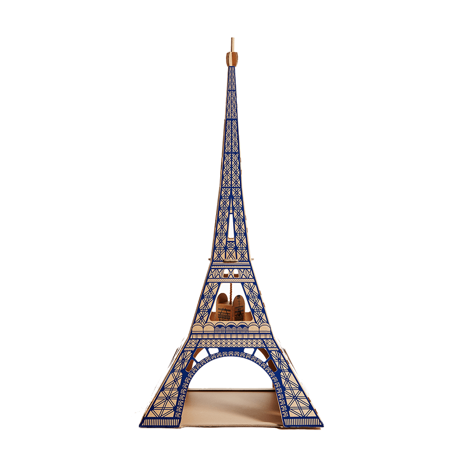 Your cat will flip for this cardboard Eiffel Tower ($45) made from all recycled materials. The maker, Poopy Cat (yes, really), also has other landmarks to choose from if you don't feel your cat is particularly Parisian, and all of them are just as detailed as the next.