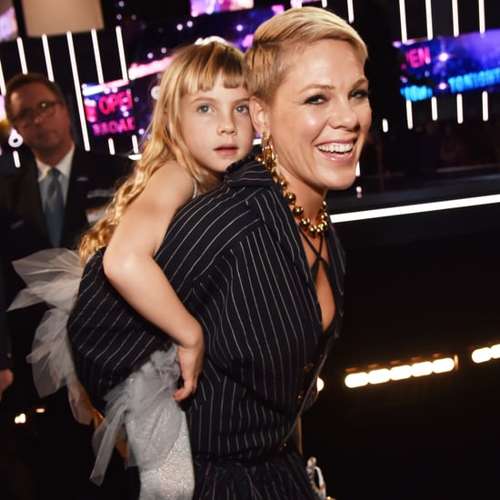 Pink and Willow Hart at 2018 Grammys